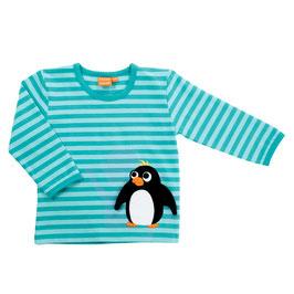 Lipfish LA Shirt Pinguin aqua gestreift
