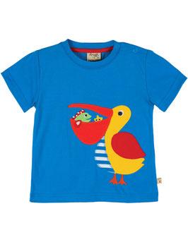 Frugi T-Shirt Pelikan blau