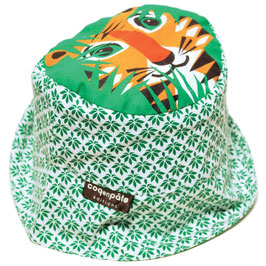 Coq en Pate Sonnenhut Tiger grün