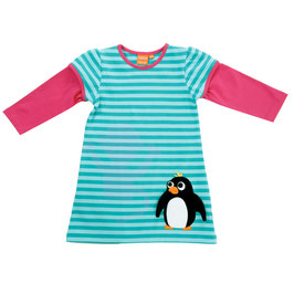 Lipfish LA Kleid, Pinguin aqua gestreift