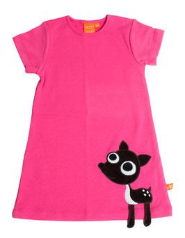 "Lipfish Kleid, Motiv ""Reh"" Farbe ""hot pink""9069"