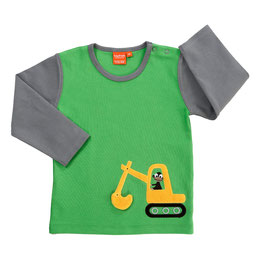 Lipfish LA Shirt Bagger grün/grau Größe 98