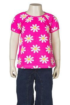 Jny T-Shirt Blumen rosa