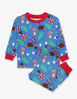 Toby Tiger Schlafanzug Maus und Igel print