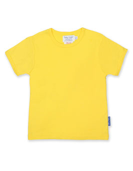 Toby tiger KA Shirt Uni gelb