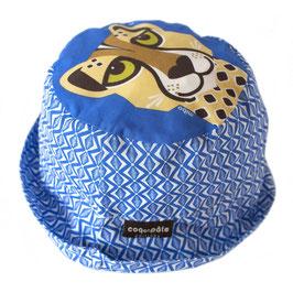 Coq en Pate Sonnenhut Gepard blau