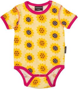 Maxomorra Body KA Sonnenblumen gelb
