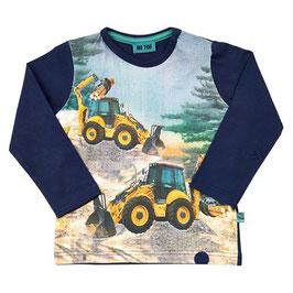 Me Too LA-Shirt Bagger blau
