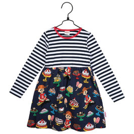 Martinex Pippi Langstrumpf LA Kleid Yummy marine