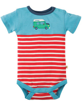 Frugi Body KA Jeep rot/blau