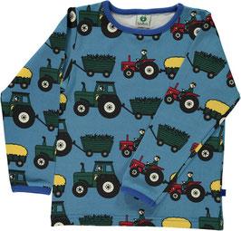 Smafolk LA Shirt Traktor blau