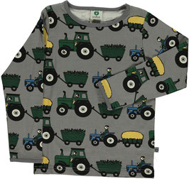 Smafolk LA Shirt Traktor grau