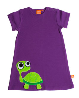 "Lipfish Kleid, Motiv ""turtle"" Farbe ""purple""9068"