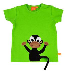 Lipfish T-Shirt für Erwachsene Affe Grün