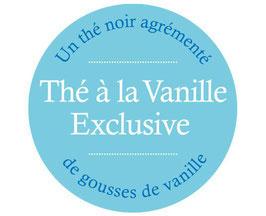 Thé à la vanille exclusive
