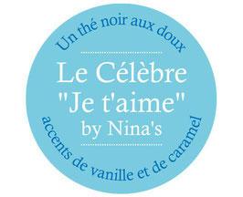 Le célèbre Je t'aime by Nina's
