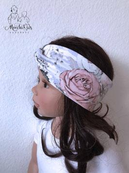 "Stirnband Haarband ""Rosen lila """