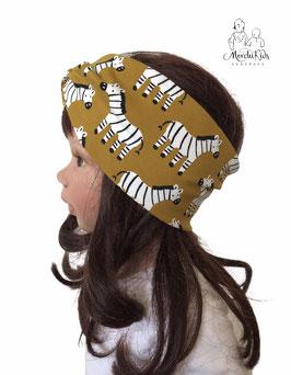 "Stirnband Haarband "" Esel / ocker """