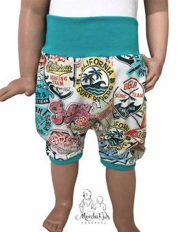 """Kurze Hose Baggy Pants """" Summer Surfing Petrol """""""