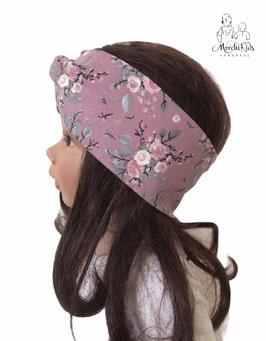 "Stirnband Haarband "" Rosen rosa """