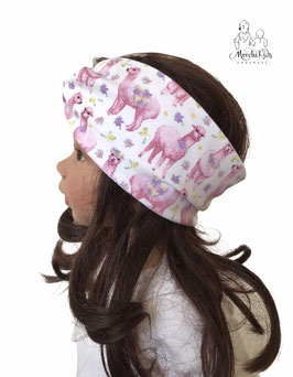 "Stirnband Haarband "" Lama / Alpaka """