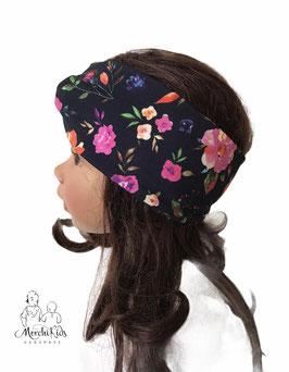"""Stirnband Haarband """" Blumen rosa """""""