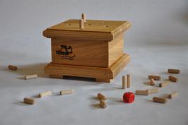 Holzspiel - Die verflixten Sechs
