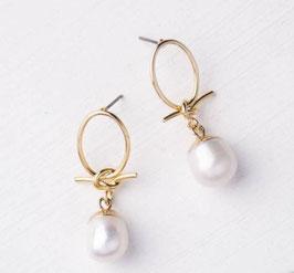 Pretty-in-Perlen-Ohrringe