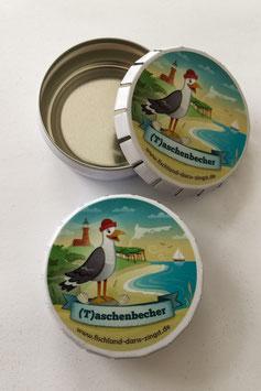 Fischland-Darß-Zingst (T)aschenbecher - dein mobiler Aschenbecher zum Mitnehmen an den Strand, in den Wald & Co