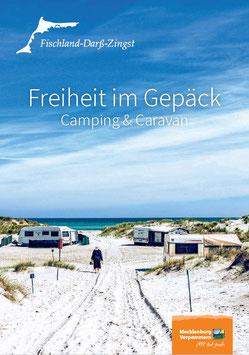 """Camping Broschüre """"Freiheit im Gepäck"""""""