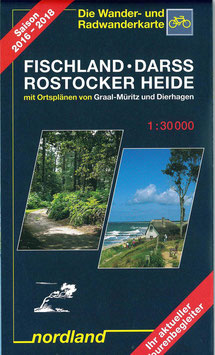 Rad- & Wanderkarte Fischland-Darß/Rostocker Heide