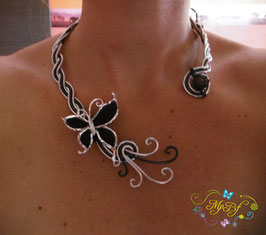 Le Collier Black Butterfly