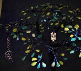 Mon arbre féerique dans la nuit ...