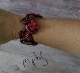 Le Bracelet rondo rouge