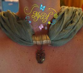Bijou de foulard Chouette alors !