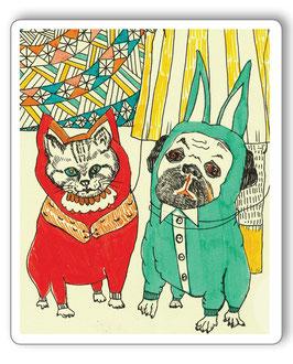 Magnet Hund und Katz