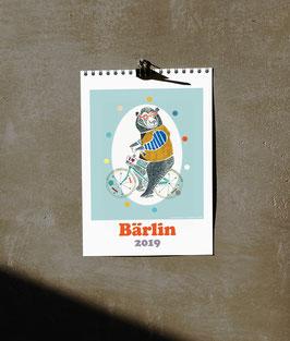 Janevas illustrierter BÄRLIN Kalender 2019