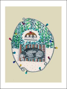 Postkarte Träume