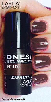 Layla One Step no. 10 red in brown