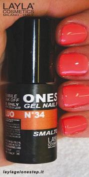 Layla One Step no. 34 orange fluo