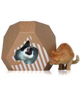 MIA - Doppelseitiges Katzenhaus