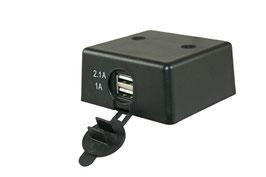 12 Volt USB lader opbouw
