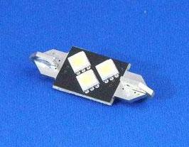 Festoon 36 mm 3 SMD LED can-bus wit (per stuk)