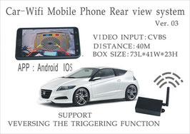 Wifi camera ombouwkit voor Android of iOS