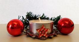 """Teelichthalter """"Christmas"""""""