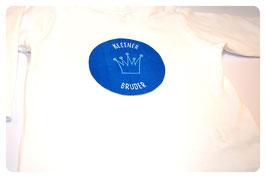 """Kurzarm-Shirt """"KLEINER/GROSSER BRUDER"""" & Krone"""