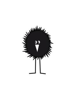 CRAZY BIRD flächig mini