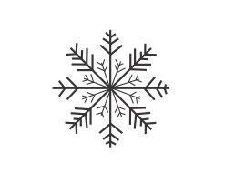 Schneeflocken-Stern 1 mini