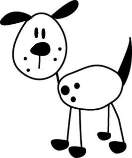 Hund COMIC medium
