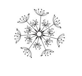 Pusteblumenkopf medium